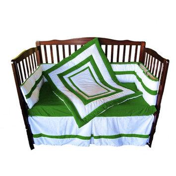 Baby Doll Bedding 4 Piece Crib Bedding Set Color: Green apple
