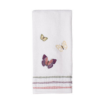 Saturday Knight Rainbow Butterfly Hand Towel