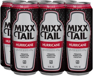 Mixx Tail Premium Hurricane Cocktail 16 fl. oz. Can