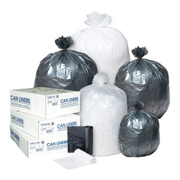 Paper Bags & Sacks Commercial Can Liners High-Density Can Liner, 24 x