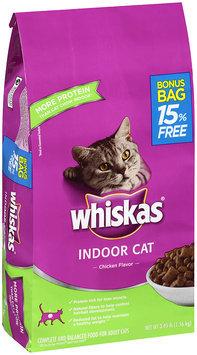 Whiskas® Indoor Cat Chicken Flavor Dry Cat Food 3.45 lbs.