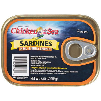 Chicken of the Sea® Sardines in  Oil, Lightly Salted 3.75 oz