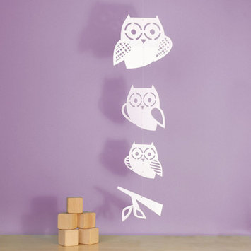 Trendy Peas Stacked Owl Mobile