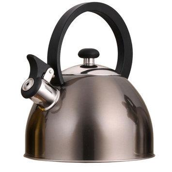 Creative Home Prelude 2.1 qt. Whistling Tea Kettle Smoke