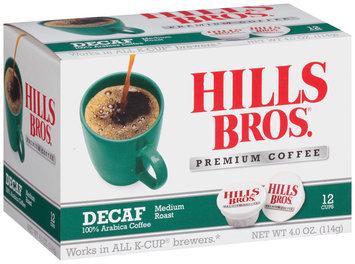 Hills Bros® Decaf Medium Roast Coffee 1 Box