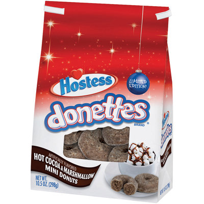 Hostess® Donettes® Hot Cocoa & Marshmallow Mini Donuts 10.5 oz. Bag