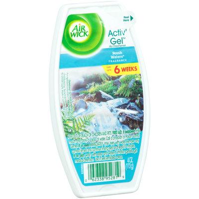 Air Wick® Activ' Gel™ Fresh Waters® Fragrance Air Freshener 4 oz.