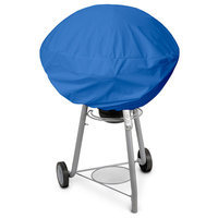 KoverRoos O3052 Weathermax Small Kettle Cover Pacific Blue - 27 Dia x 23 H in.