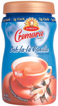 Cremora Ooh La La Vanilla Reduced Carb Creamer 4 Oz Plastic Bottle