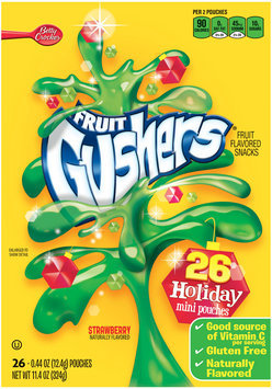 Fruit Gushers™ Holiday Strawberry Fruit Flavored Snacks