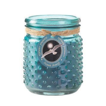 Koehlerhomedecor Ocean Breeze Hobnail Jar Candle