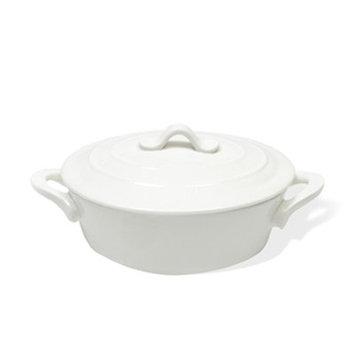 Maxwell & Williams White Basics 112-oz Oven Chef Oval Casserole