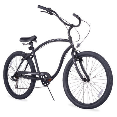 Firmstrong Chief 7 Speed, Black - Men's 26