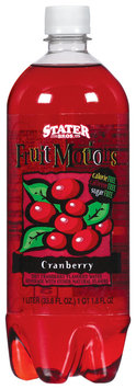 Stater Bros. Fruit Motions Cranberry Water Beverage 1 L Plastic Bottle