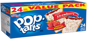 Kellogg's® Pop-Tarts® Frosted Strawberry Toaster Pastries 24 ct Box