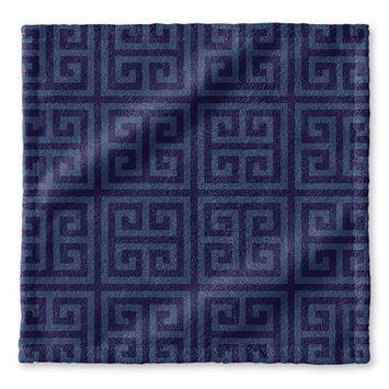 Kavka Greek Key Wash Cloth