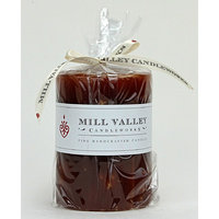Mill Valley Candleworks Amber Spice Scented Pillar Candle Size: 5