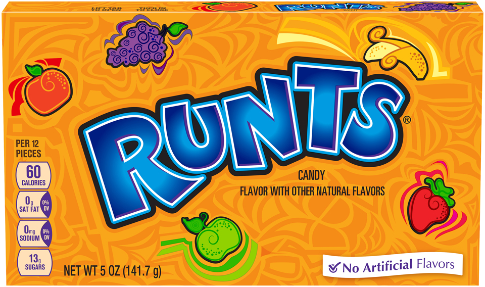 Runts® Candy 12-5 oz. Video Boxes