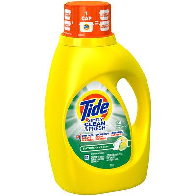 Tide Simply Clean & Fresh HE Liquid Laundry Detergent, Daybreak Fresh Scent, 38 Loads 60 Fl Oz