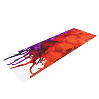 Kess Inhouse Rainbow Splatter by Claire Day Yoga Mat