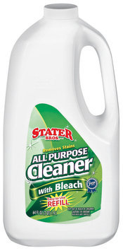 Stater Bros. All Purpose W/Bleach Cleaner 64 Fl Oz Jug