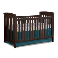 Imagio Baby by Westwood Design Midtown Cottage Crib in Chocolate Mist