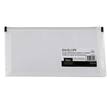 Filexec Zipper Envelope - Side Loading Clear Set of 12
