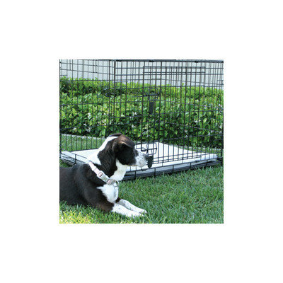 Animated Pet Midwest Corner Pin Crate Pad - Size: 24, Color: Sand