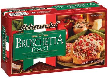 Schnucks Bruschetta Toast 10.5  Box