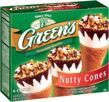 Green's® Nutty Cones 6-4.0 fl. oz. Cones