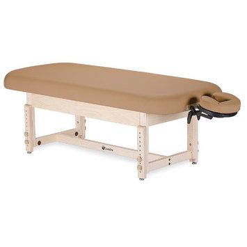 Earthlite Sedona Stationary Table with Shelf Color: Vanilla Cr me