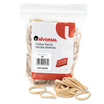 Universal Office Products Rubber Bands Universal Boxed, Size 30