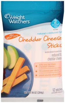 Weight Watchers® Reduced Fat Cheddar Cheese Sticks 12 ct Bag