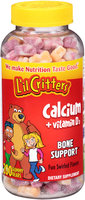 L'il Critters™ Calcium + Vitamin D3 Gummy Bears Dietary Supplement 200 ct Bottle