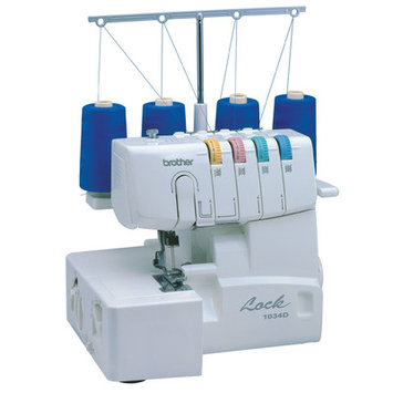 Brother International Brother Sewing Machine 1034D 3/4 Lay-In Thread Serger
