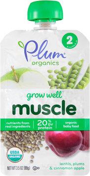Plum® Organics Grow Well™ Muscle Organic Baby Food 3.5 oz. Pouch