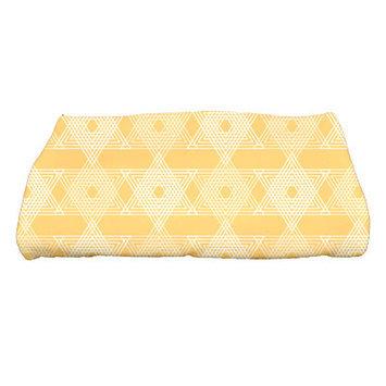 The Holiday Aisle Star Light Bath Towel Color: Yellow