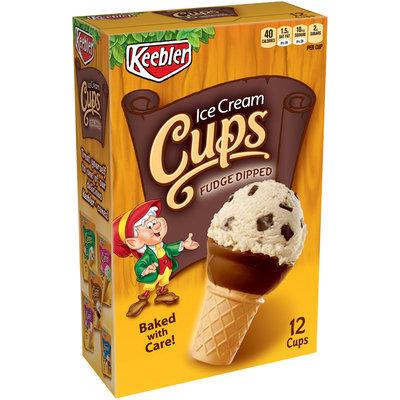 Keebler® Fudge Dipped Ice Cream Cups 12 ct Box