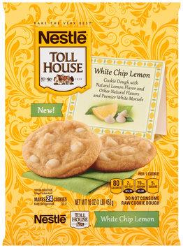 Nestlé TOLL HOUSE Lemon White Chip Cookie Dough 16 oz. Bar