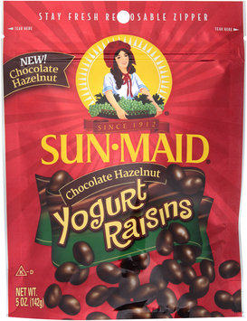 Sun-Maid® Chocolate Hazelnut Yogurt Raisins 5 oz. Bag