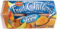 Fruit Chillers™ Glacial Mango Frozen Fruit Sorbet 4-4.5 oz. Cups