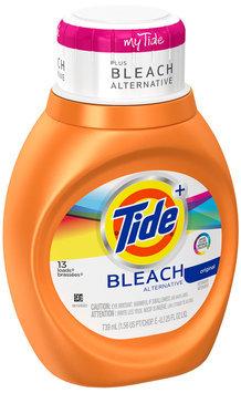 Tide Plus Bleach Alternative Original Scent Liquid Laundry Detergent 25 fl. oz. Bottle