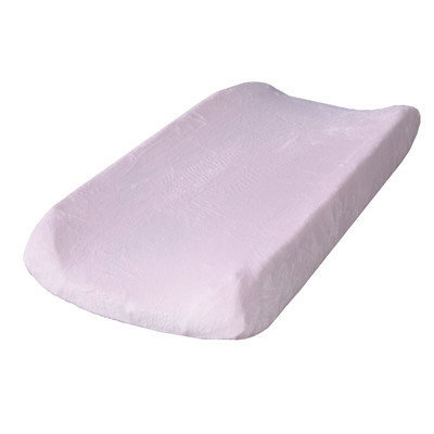 Go Mama Go Minky Changing Pad Cover Color: Pink