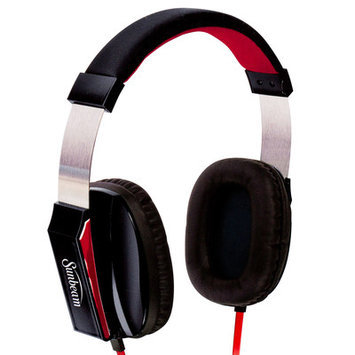 Sunbeam Stereo Big Bass Headphones with Microphone Color: Black