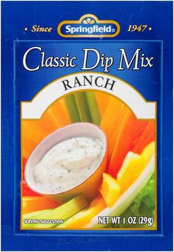 Springfield® Classic Dip Mix Ranch 1 oz. Envelope