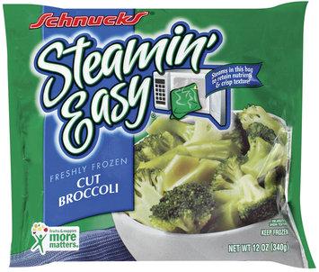 Schnucks Steamin' Easy Cut Broccoli 12 Oz Bag
