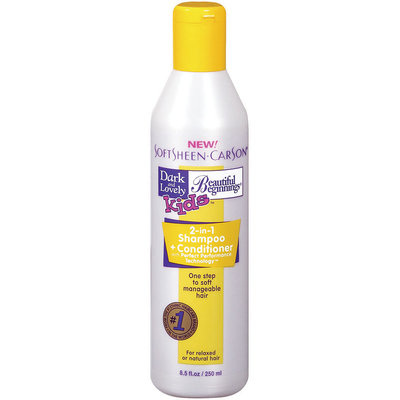 Dark and Lovely Kids  2 In 1 Shampoo & Conditioner 8.5 Oz