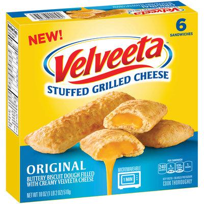 Velveeta™ Original Stuffed Grilled Cheese Sandwiches