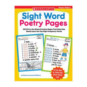 Scholastics Teacher Scholastic 978-0-439-55438-1 Sight Word Poetry Pages