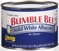 Bumble Bee® Solid White Albacore Tuna in Water 66.5 oz. Can